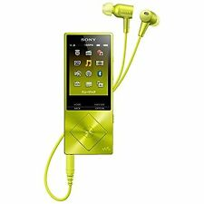 OFFICIAL Sony Walkman A series 16GB NW-A25HN/Y Lime Yellow