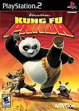 Kung Fu Panda (Sony PlayStation 2, 2008) PS2 Complete with manual - Black Label
