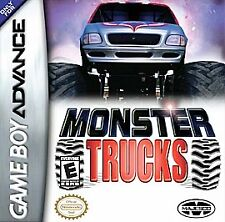 Monster Trucks Game Boy Advance GBA TESTED FREE SHIP