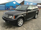 2007 RANGE ROVER SPORT HSE PLUS TDV6 AUTO - HPI CLEAR - NEVER DAMAGED SALVAGE