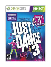 Just Dance 3 (Microsoft Xbox 360, 2011) No Manual But Otherwise Complete