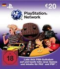 20€ Playstation Network DE Card Karte PSN PS3 Code 20 eur € euro 20eur 20euro