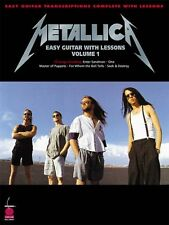 Metallica : Easy Guitar with Notes and Tablature, Easy Guitar Transcriptions...