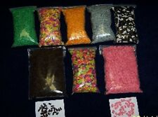 EDIBLE SPRINKLES SHAPES QUINS COOKIE CAKE CUPCAKE TOPPERS DECORATIONS 3/$12.60