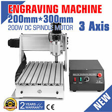 CNC Router 3020T 3 Axis Engraving Incisione Engraver Milling Drilling Desktop