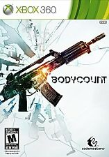 XBOX 360 - BODYCOUNT - FACTORY SEALED - SHIPS FREE - $19.95