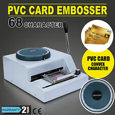 Caractère 68 Machine à embosser VIP CLUB HEAVY DUTY EMBOSSING SIMPLE TO HANDLE