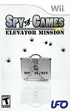 SPY GAMES ELEVATOR MISSION For Wii NEW & SEALED - Free Shipping! Great Game