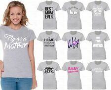 60 DESIGNS Mother's Day Women T-shirt Mom's Gift GREY - 4