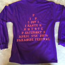 The Life of Pablo Kanye West PARADISE FESTIVAL I Feel like Pablo Shirt Purple