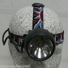 PETZL ZOOM Caving Pot Classic Head Torch Adjustable Beam 4.5v Used Army Surplus