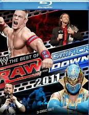 WWE: Raw and Smackdown - The Best of 2011 (Blu-ray Disc, 2012, 3-Disc Set)