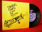1970 STATUS QUO Down The Dustpipe 7/45 NMINT PORTUGAL ULTRARARE PS UNIQUE COVER