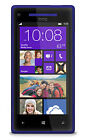 "HTC Windows Phone 8X - 16GB - California Blue (Unlocked) Smartphone 4.3"" 5MP"