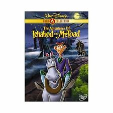 The Adventures of Ichabod and Mr. Toad (DVD, 2000, Gold Collection Edition)