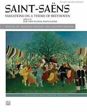 Variations on a Theme of Beethoven, Op. 35 by Alfred Publishing Co., Inc....