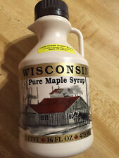 100% Pure Wisconsin Maple Syrup Grade A Dark Amber