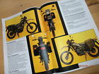 Armstrong.MT500.Military Motorcycles.Sales brochure.4 sides of Full colour.New.