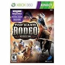 XBOX 360 TOP HAND RODEO TOUR BRAND NEW KINECT VIDEO GAME Free Shipping