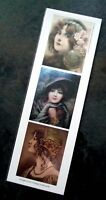 New bookmark w images from vintage postcards
