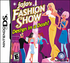 Nintendo DS JoJo's Fashion Show (Nintendo DS Game, 2009)