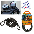 Motorcycle motorbike scooter helmet lock security cable 160 cm & free from Lampa