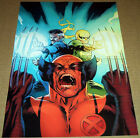 IRON FIST WOLVERINE DR STRANGE MARVEL COMIC BOOK POSTER UNCANNY X-MEN X-FORCE FF