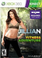 NEW Jillian Michaels Fitness Adventure Xbox 360 Factory Sealed Kinect