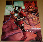 INVINCIBLE IRON MAN #3 2ND PRINTING VARIANT MARVEL COMIC BOOK POSTER AVENGERS SS