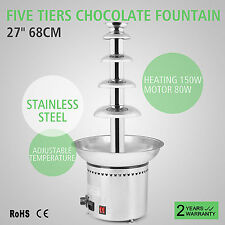 68CM FUENTE DE CHOCOLATE COMERCIAL GALLETAS FIESTAS DE HOTEL GREAT BARGAIN SALE