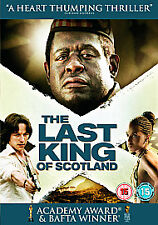 The Last King Of Scotland (DVD, 2007) - James McAvoy, Forest Whitaker.