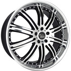 20x8.5 COMMODORE VR VS VT VX VU VY VZ VE BLACK/FULL POLISHED MAG & TYRE COMBO