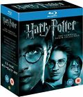 HARRY POTTER COMPLETE ALL 1 - 8 MOVIE FILM BLU RAY BOX SET + BONUS FEATURES NEW