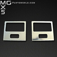 Mazda MK1 Eunos MX5 Stainless Steel Chrome Footwell Light Surrounds