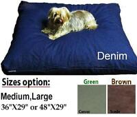 Do it Yourself Durable Zipper cover for Pet Bed Dog or Cat Pillow Medium Large