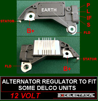 NEW ALTERNATOR REGULATOR TO FIT SOME DELCO FORD
