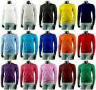 New Mens Stylish Long Sleeve Cotton T-Shirt All Colours.(Sz) XS / S / M / L / XL
