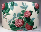 """Modern Classic Bright Floral Cotton Print Handmade Lampshade, 16"""""""