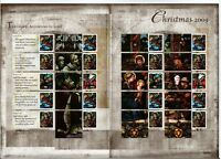 LS67  XMAS 2009 GENERIC SMILERS FULL  SHEET STAMPS