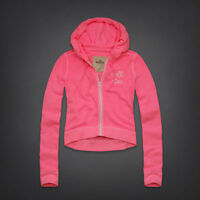 Hollister by Abercrombie & Fitch Hoodie Sweat Zip Jacket PINK, size Large L, NWT
