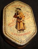 Old Vintage Tin Small Box from Italy 1930  Very Rare