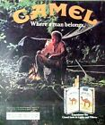 1982 Camel Cigarettes Camping Where a Man Belongs AD
