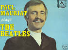 PAUL MAURIAT-PLAYS THE BEATLES LP-ORIG G/FOLD-RARE-EX++
