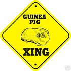 Guinea Pig Xing Sign