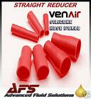 28mm - 22mm RED Straight Silicone Hose Reducer Venair Silicon Reducing Pipe