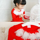 Rubberdress baby RedWhite TOP Pettiskirt Boutique X-Mas