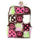 PatchWork Rag Bag Peace Backpack,Cotton Quilted Purse