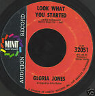 "GLORIA JONES-LOOK WHAT YOU STARTED 7"" PROMO-US-SOUL-EX+"
