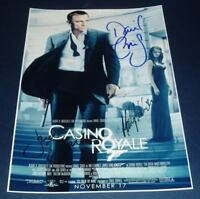 """CASINO ROYALE CAST x4 PP SIGNED POSTER 12""""X8"""" CRAIG"""