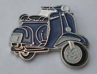 Blue Vespa Scooter Mod Quality Enamel Pin Badge